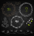 set decoration vector image vector image