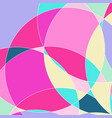 abstract pattern with multi-colored parts vector image vector image