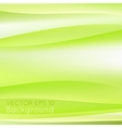 Blurred spring green abstract background vector image