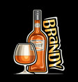 logo for brandy vector image vector image
