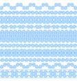 set brushes to create greek meander vector image vector image