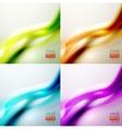 Set of wave backgrounds
