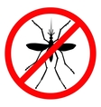 Stop mosquito vector image vector image