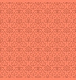 thin line leaves seamless pattern design vector image vector image