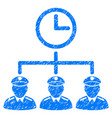 time army grunge icon vector image