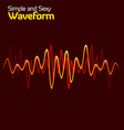 wave form vector image