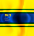 brazil colors 2 vector image