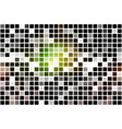 green brown yellow black occasional opacity vector image vector image