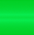 green geometrical halftone square pattern vector image vector image