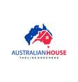 home logo design in australia vector image vector image