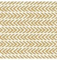 Seamless hand-drawn pattern in gold Abstract vector image vector image