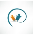 Success people icon vector image vector image