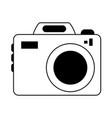 digital photo camera vector image vector image