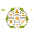 Flat Icons - Biology vector image vector image