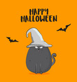 halloween autumn scary vector image