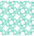 neo mintaqua mentheemerald turquoise geometric vector image vector image