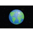 Planet Earth Cartoon vector image vector image
