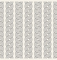 seamless interlacing lines pattern modern stylish vector image