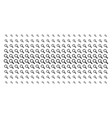search shape halftone effect vector image vector image
