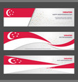 singapore independence day abstract background vector image