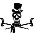 skull dandy vector image vector image