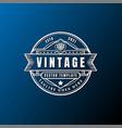 vintage retro badge emblem label stciker logo vector image vector image