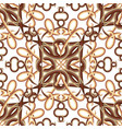 vintage ornamental seamless pattern patterned vector image