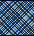 geometric abstract diagonal plaid pattern in low vector image vector image