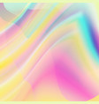 holography background abstract holographic vector image vector image