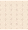 knit beige pattern vector image vector image