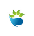 nature logo vector image vector image