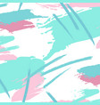 style grunge abstract blue pink background dirty vector image