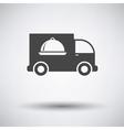 Delivering car icon vector image