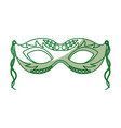 carnival mask icon vector image