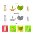fresh and product icon vector image