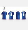 t-shirt sport mockup design vector image vector image