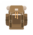 Tourist Backpack Icon vector image vector image
