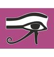 Egyptian Eye of Horus - ancient religious symbol vector image