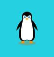 arctic cartoon penguin vector image vector image