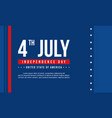 background style for independence day vector image vector image