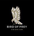 bird frey logo icon vector image vector image
