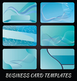 business-card-templates-4 vector image vector image