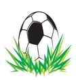 Fudbalska lopta simple1 vector image vector image