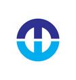 pabstract circle business logo vector image
