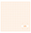 printable graph paper 12x12 inch size vector image vector image