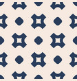 simple abstract geometric seamless pattern with vector image vector image