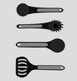 spoons vector image vector image