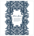 Abstract seamless arabic lace pattern vector image vector image