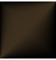 Black background in gold stripes vector image