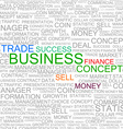 Business Background vector image
